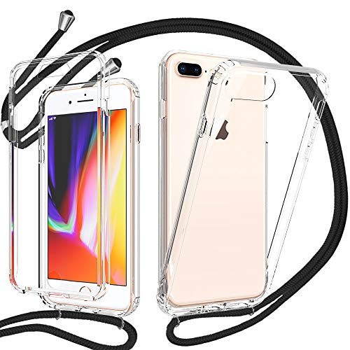 Funda con Cuerda para iPhone 7 Plus/iPhone 8 Plus, Carcasa