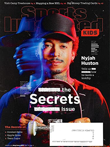 Sports Illustrated KIDS Magazine (May June, 2021) NYJAH HUSTON Cover - HAS CARDS