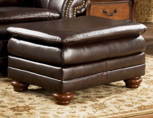 Hot Sale Signature Design by Ashley DuraBlend Canyon Ottoman