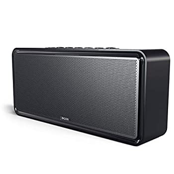 Bluetooth Speaker DOSS SoundBox XL 32W Bluetooth Home Speakers 20W Louder Volume DSP Technology with 12W Subwoofer Wireless Stereo Pairing Speakers for Indoor Party