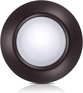 Bronze Dimmable LED Disk Light,SOLLA 7.5