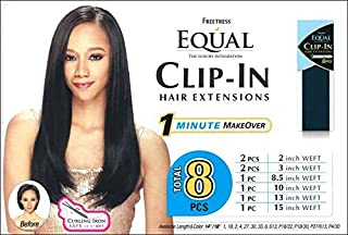 Best freetress equal clip in hair extensions Reviews