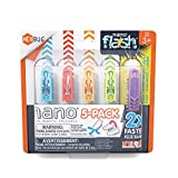 HEXBUG Nano 5 Pack - 4 nanos Plus Bonus Flash Nano - Sensory Vibration Toys for Kids and Cats - Small HEX Bug Tech Toy - Batteries Included - Multicolor