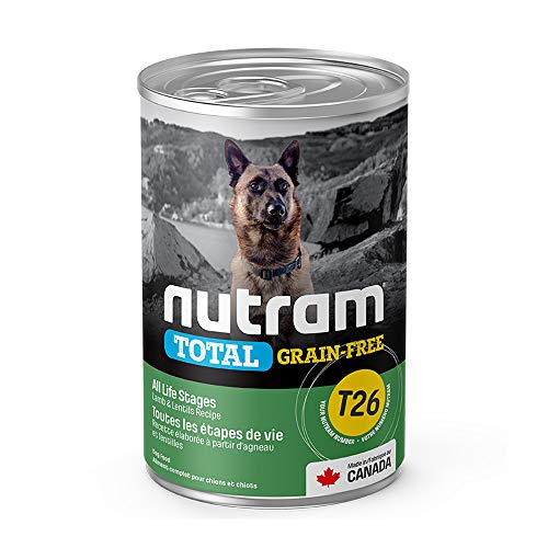 Nutram Dog Grain Free Lamb and Lentil Cans 12x369gm