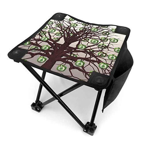 End Nazi Klappstuhl im Freien Stuhl Finanzen Dollar Währung Baum Obst Monitor Geld im Freien Stuhl