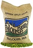 Green Split Peas • 100% Desiccant Free • 5 lbs • Non-GMO Project Verified • Good Source of Protein • 100% Non-Irradiated • Certified Kosher Parve • USA Grown • Field Traced • Burlap Bag