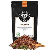 Edward Fields Tea ® - Rooibos Chai orgánico a granel. Rooibos bio recolectado a mano con ingredientes y aromas naturales, 100 gramos, Sudáfrica.