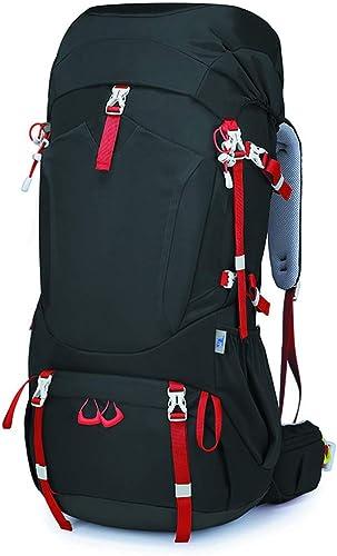XY&CF- Hiking Backpacks Sac à Dos de Camping 60L de randonnée en Plein air Sac à Dos de Voyage Ultra léger Sac à Dos Hommes et Femmes Sac à Dos de randonnée (Bleu)