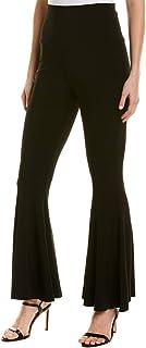 Norma Kamali Women's Cropped Fishtail Pant