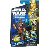 Hasbro Star Wars 2011 Clone Wars Animated Action Figure CW No. 63 Chewbacca Kashyyyk Warrior