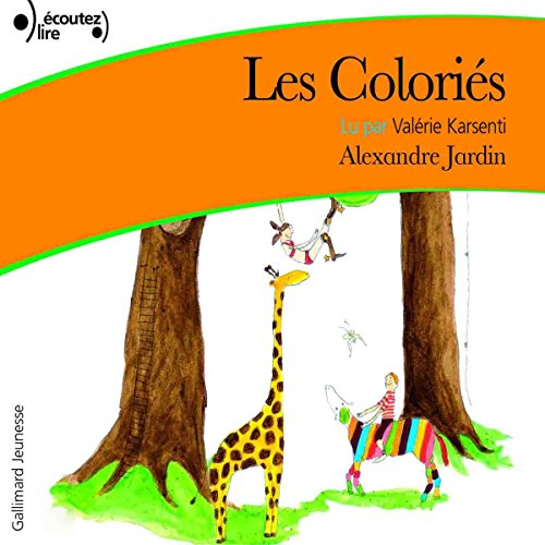 Les Coloriés audiobook cover art