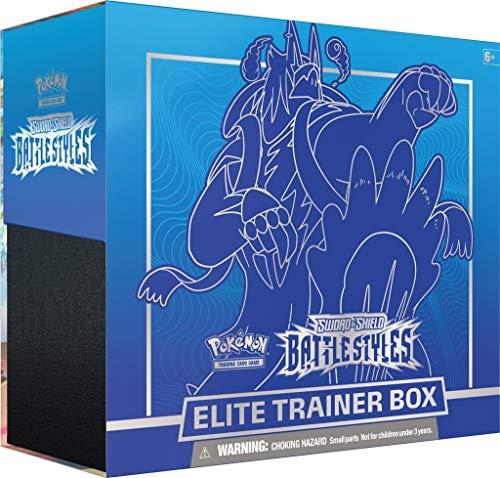 Pokemon TCG: Sword & Shield - Battle Styles Elite Trainer Box - Blue