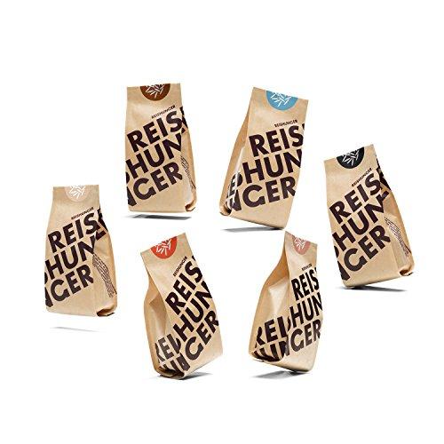 Reishunger Bio Set (6 x 200 g) Die 6 beliebtesten Bio-Reissorten in einem Set - erhältlich in 200 g und 600 g