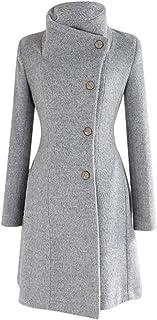 comprar comparacion Logobeing Chaqueta Abrigo Mujer Invierno Talla Grande Suéter Abrigo Largo para Mujer Otoño Bolsillo Blusas Manga Larga Est...