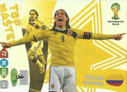 FIFA World Cup 2014 Brazil Adrenalyn XL Falcao Top Master