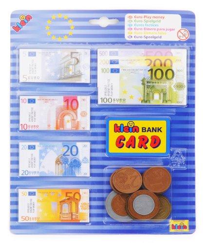 Theo Klein-9605 Euro Dinero Para Jugar, Juguete, color surtido (9605)