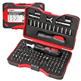 Hi-Spec 101 Piece Screw Driver Bits & Ratchet Handle Set with Tamper-Proof Security Types. DIY Repair & Opening of Computers, Electronic Devices, Household Appliances & Furniture, Fixtures & Fittings