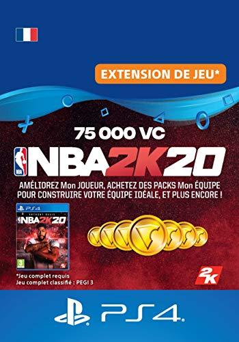 NBA 2K20 - 75,000 VC - DLC | Code Jeu PS4 - Compte français