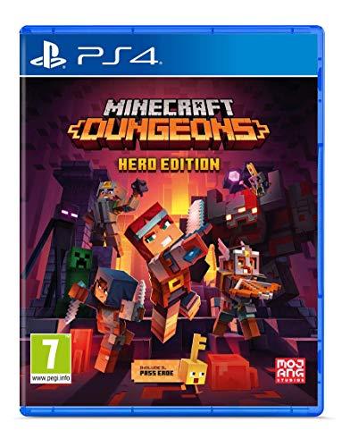 Minecraft Dungeons - Hero Edition - Complete - PlayStation 4 [Importación italiana]