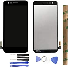 JayTong LCD Display & Replacement Touch Screen Digitizer Assembly with Free Tools for LG K Series K4 2017 M160/Phoenix 3 M150/REBEL 2 L58VL/Risio 2 M154/Fortune M153 Black