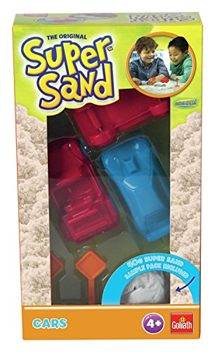 Goliath – 83243/012 – Super zand om te bakken of voertuigen – model willekeurig