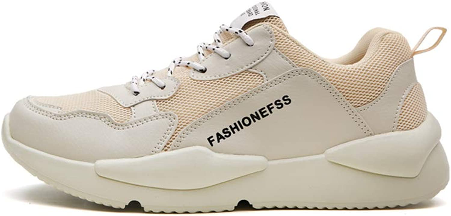 Mens's shoes Summer Fall Walking shoes Trend Casual shoes Height Increase Deck shoes Little White shoes