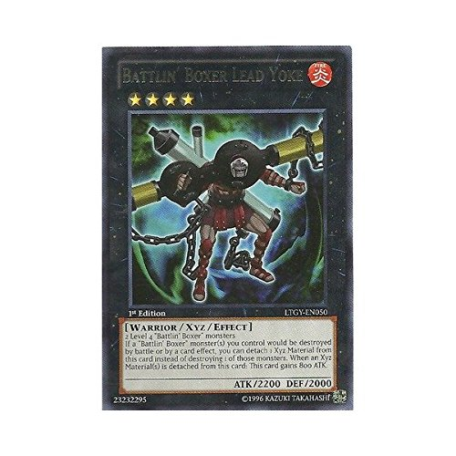 YU-GI-OH! - Battlin39; Boxer Lead Yoke (LTGY-EN050) - Lord of The Tachyon Galaxy - Unlimited Edition - Rare