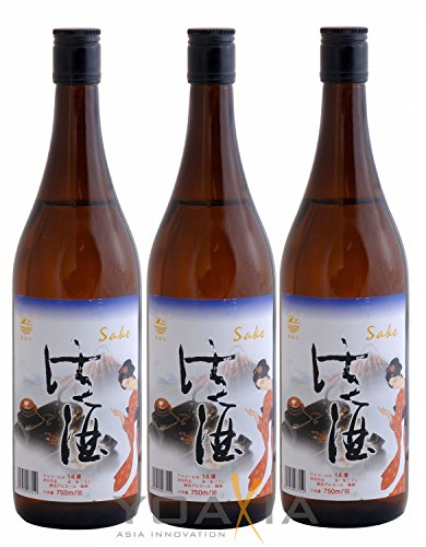 3er-Pack - Sake / Alkoholhaltiges Reisgetränk [3x 750ml] 14% VOL 750ml von ZW China
