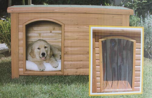 Precision Pet Products Outback Dog House Door in Clear Size: Medium/Large (25' x...