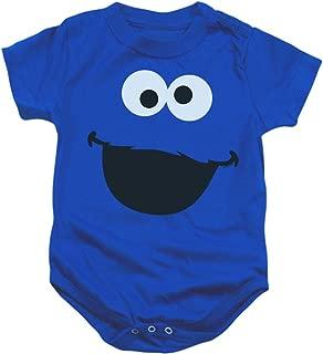 Sesame Street Character Face Baby Onesie Bodysuit
