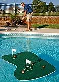 Putt-A-Bout Aqua Golf Floating Putting Mat, Green