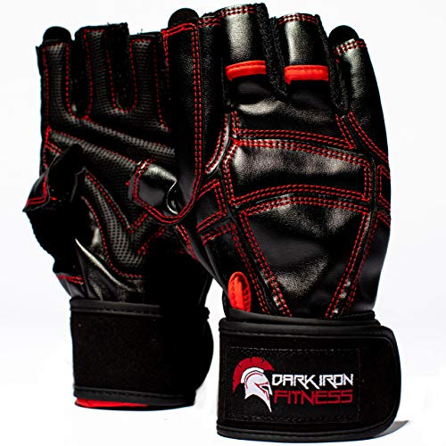 Work Out Gloves for Weight Lifting - Top Men and Womens Weightlifting Gym Glove for Barbell Exercise...