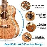Immagine 2 vangoa ukulele da concerto 23