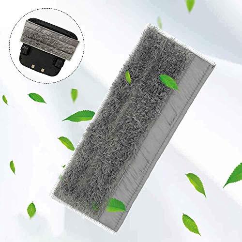 Fayeille Lavable Almohadilla Reutilizable Hogar Higiénico Microfibra Aspiradora Piezas Recambio Mopa Paño Limpieza Polvo Fuerte Absorción Accesorios para Ibot M6