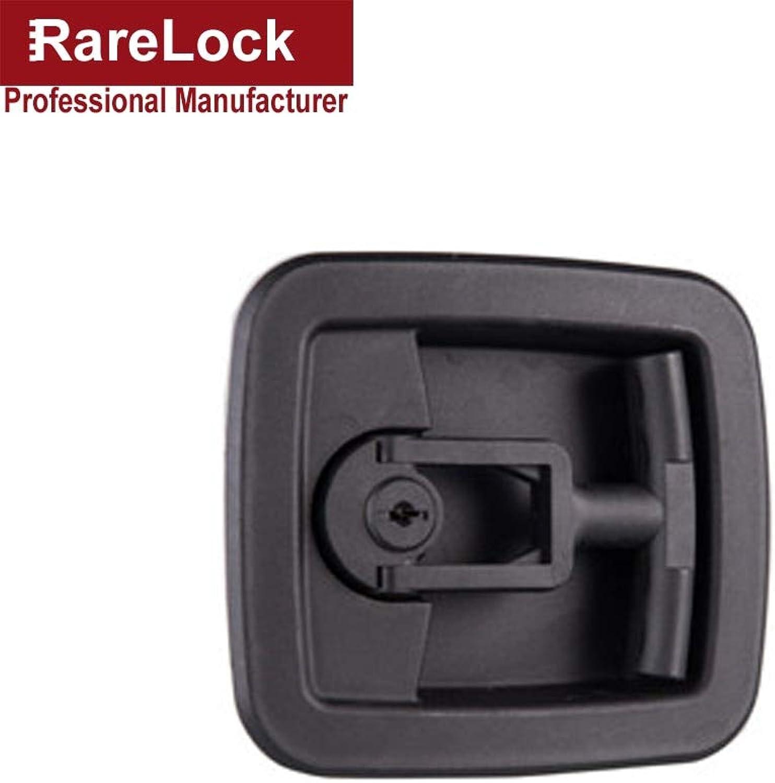 Rarelock Christmas Supplies MMS498 Switch Cabinet Lock Handle Lock Furniture Hardware Lock Keyless Handle Cabinet Cam Lock
