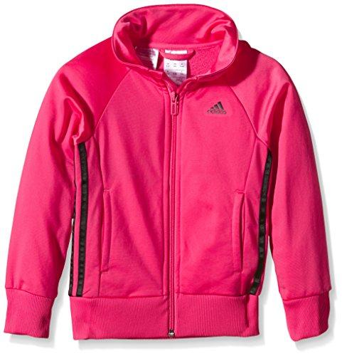 adidas Mädchen Wardrobe Trainingsjacke, Rosa, 170