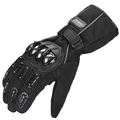 ILM Alloy Steel Touchscreen Motorcycle Riding Gloves