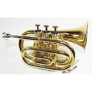 Cherrystone 4260180881738 Taschentrompete Pocket Trompete gold
