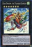 Yu-Gi-Oh! - Gaia Dragon, The Thunder Charger (GAOV-EN046) - Galactic Overlord - 1st Edition - Super Rare