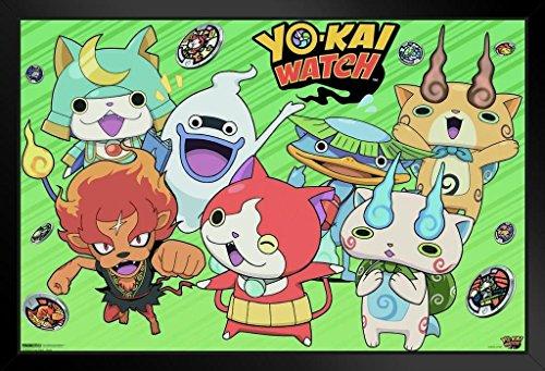 Pyramid America Yo Kai Watch Characters Television Reloj de Pulsera Masculino Cuarzo Oro