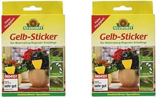 Neudorff Gelb-Sticker (20 Stück)