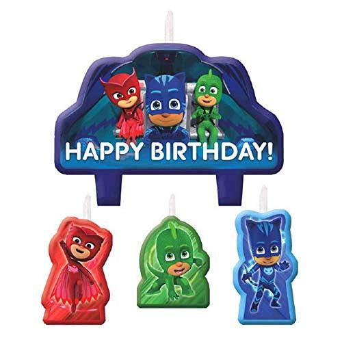 PJ Masks Birthday Candles