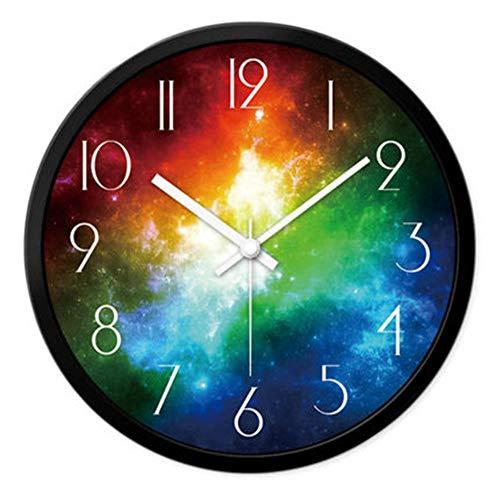 rrff Relojes De Pared B Reloj De Pared Decorativo Antiguo Reloj De Pared Mudo Grande Arte Digital Clásico Decoración del Hogar Herramientas De Decoración