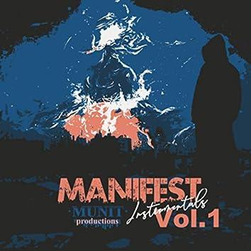 Manifest Instrumentals, Vol. 1
