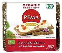 ミトク  PEMA 有機全粒ライ麦パン(フォルコンブロート) 375g(6枚入)  16袋