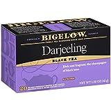 Bigelow Darjeeling Blend Black Tea Bags, 20 Count Box (Pack of 6) Caffeinated Black Tea, 120 Tea Bags Total