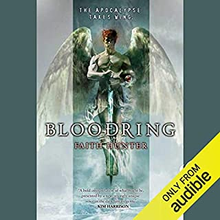 Bloodring audiobook cover art