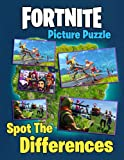 Fortnite Spot The Differences Picture Puzzle: A Cool Book For Relaxation And Stress Relief Giving Many Images Of Fortnite For Interesting Game