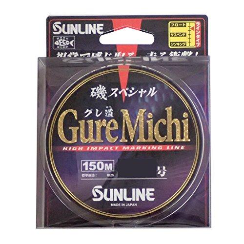 サンライン(SUNLINE) ナイロンライン 磯スペシャル GureMichi 150m 1.75号 ブルー&ピンク