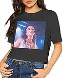 WXCC Women Sexy Jorja Smith Short Sleeve T Shirts Black